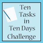 10 tasks in 10 days challenge