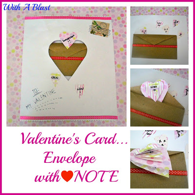 Valentine's Card-Envelope