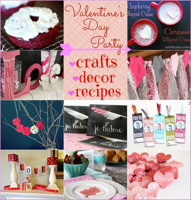 Valentine's Link Up Party via Nest of Posies
