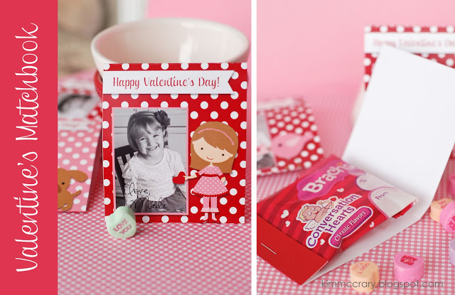 Valentine Matchbook Printable