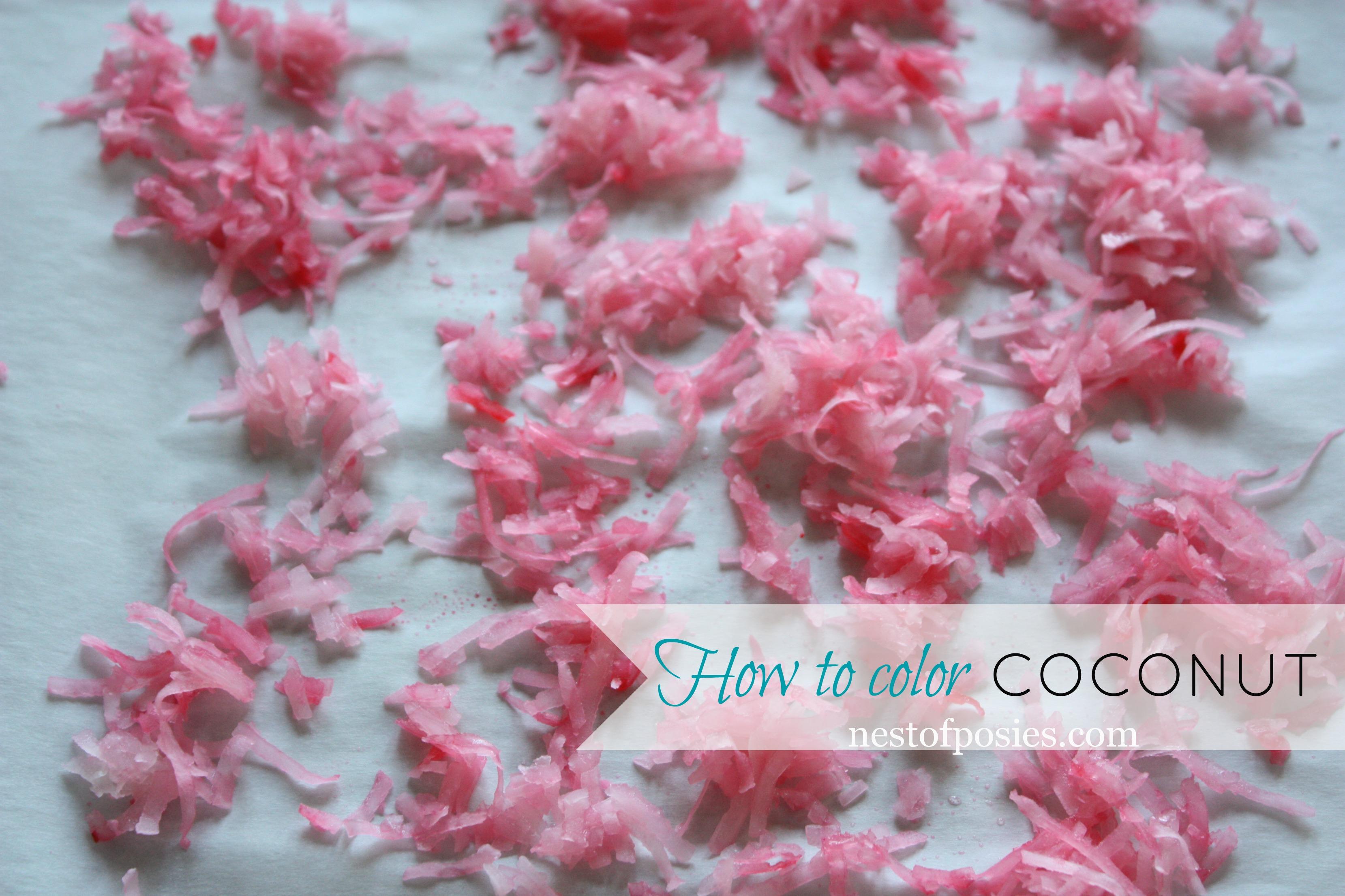 How to color Coconut via @NestofPosies