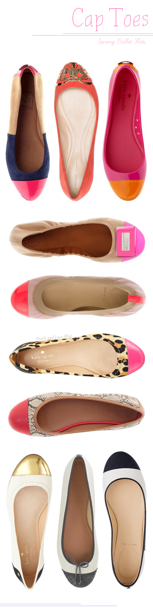 Ballet Flats wanting to hack these!  via Nest of Posies