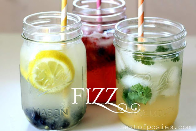 Fizz!  My new go-to low calorie drink that tastes amazing!