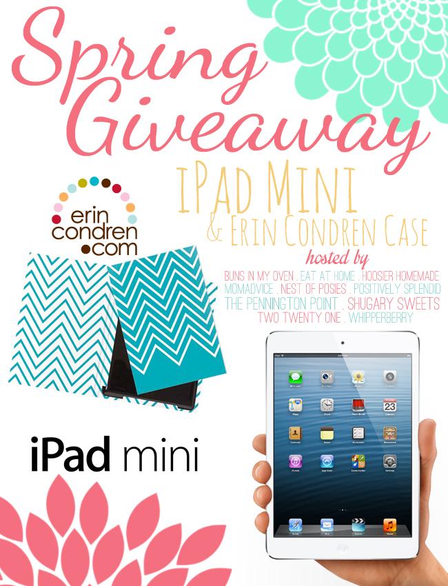 Win an iPad mini & case via Nest of Posies