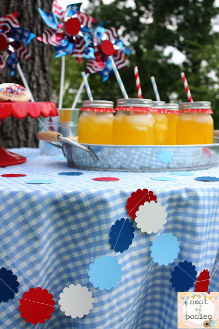 Homemade Patriotic Table Decorations Photograph Easy amp Fun