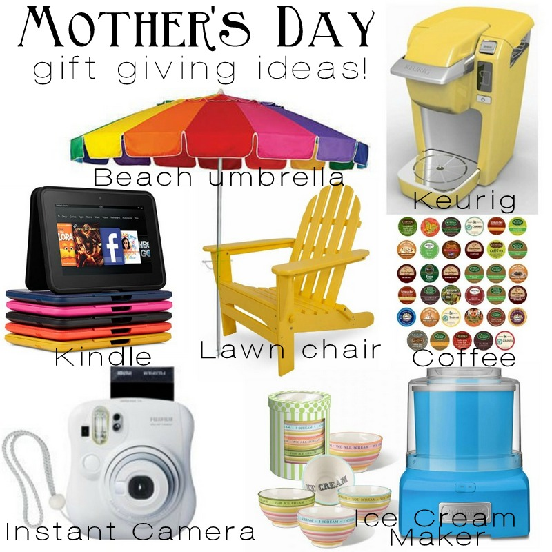 Mother's day gift giving ideas via Nest of Posies