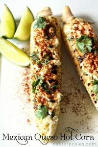 Mexican Queso HOT Corn: a progressive Summer dinner & a giveaway!