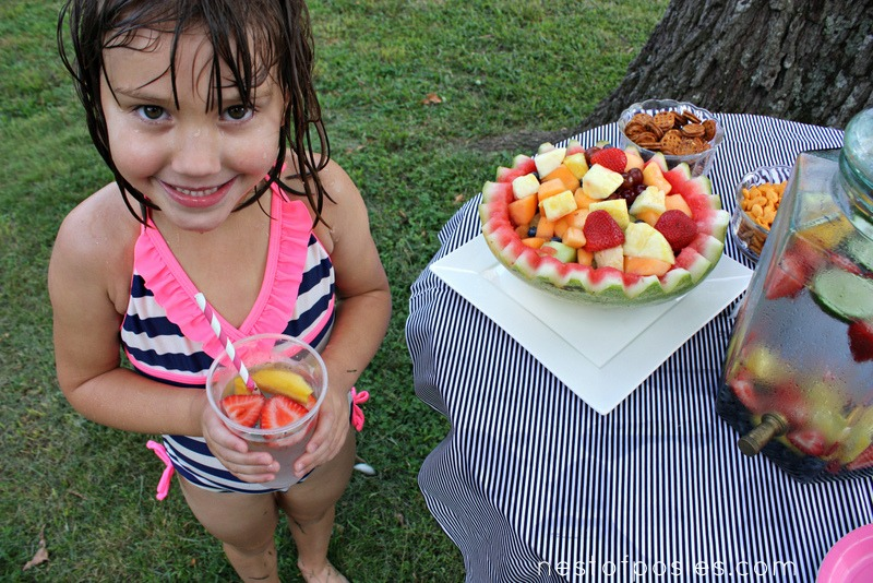 Make Coconut Water for Kids Parties via Nest of Posies