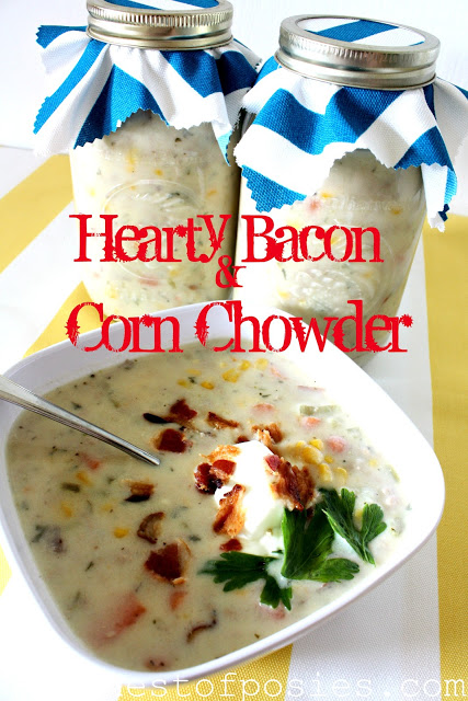 Hearty Bacon and Corn Chowder Soup