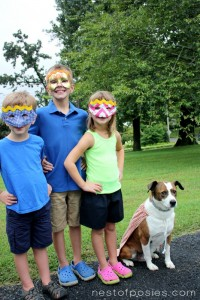 Superhero Kids Craft Idea
