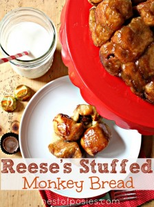 Reese's Stuffed Monkey Bread