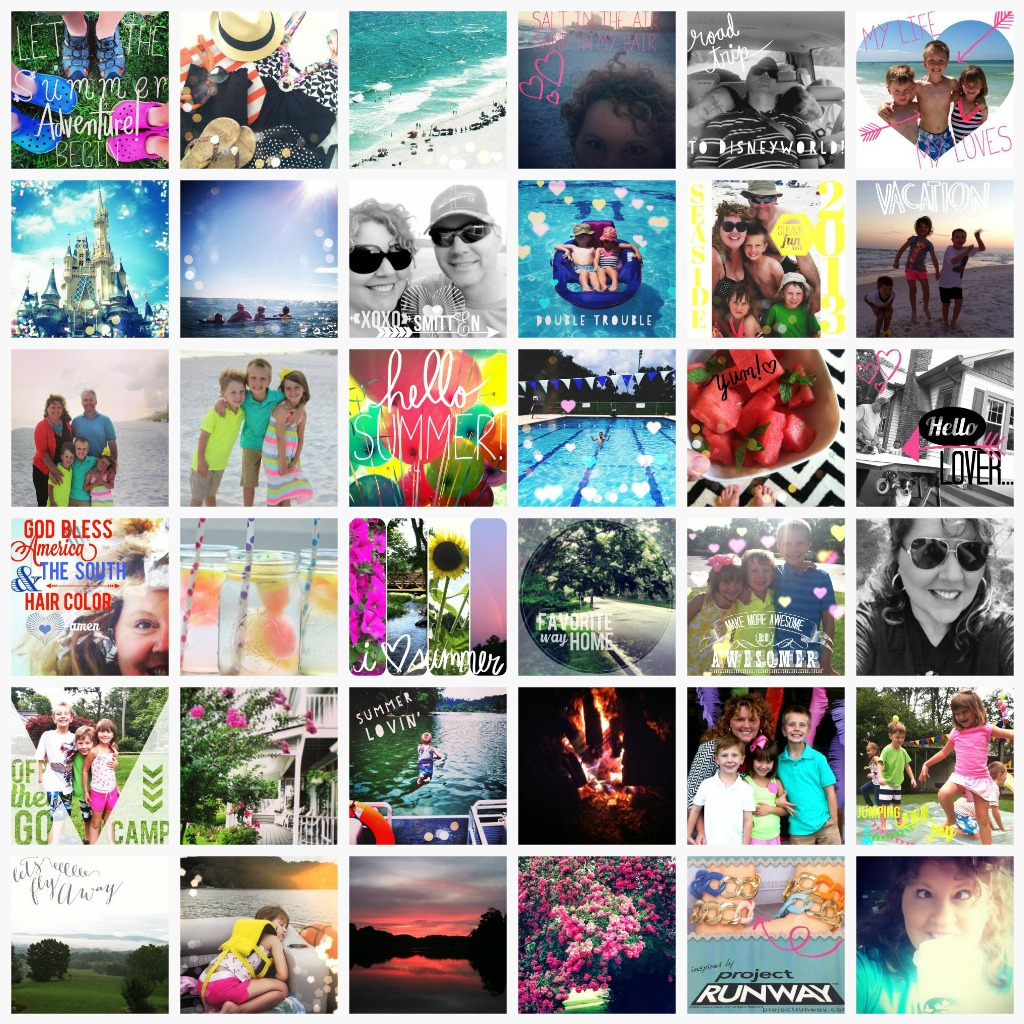 Summer 2013 Highlights by Instagram via Nest of Posies