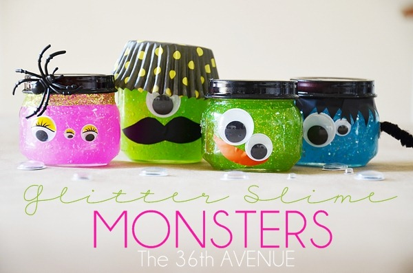 Glitter Monster Slime