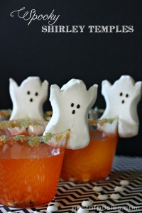 Spooky Shirley Temples