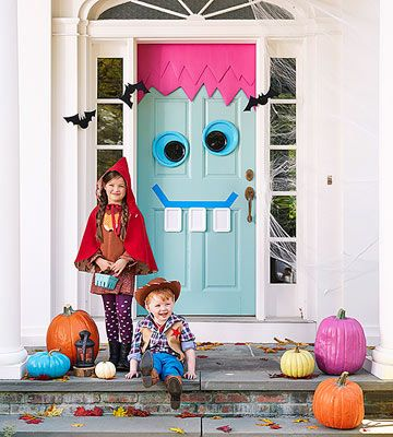Decorate Your Door for Halloween