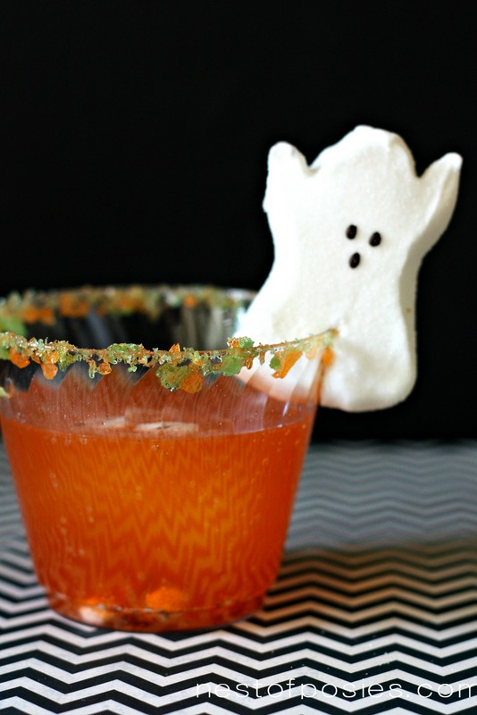 Spooky Shirley Temple Drink