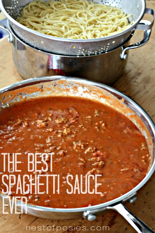 The Best Spaghetti Sauce - ever!