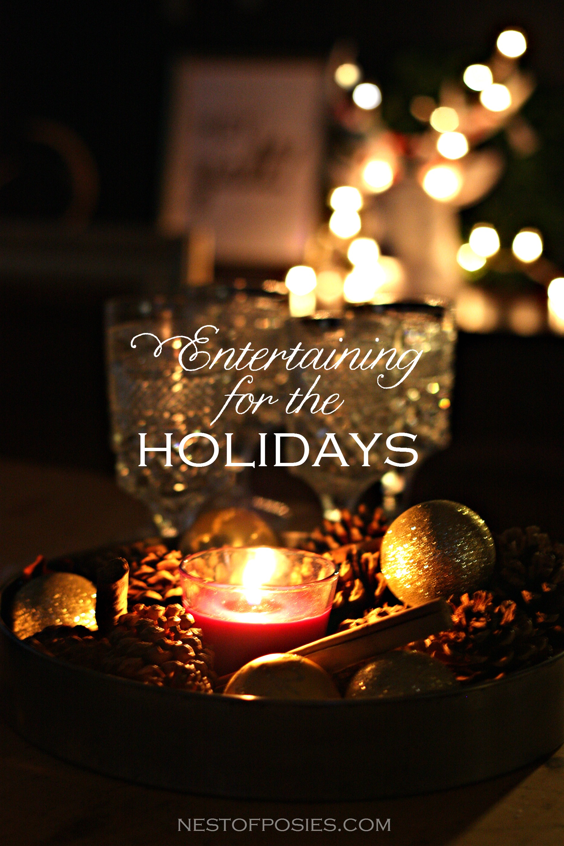 Easy tips on entertaining for the holidays