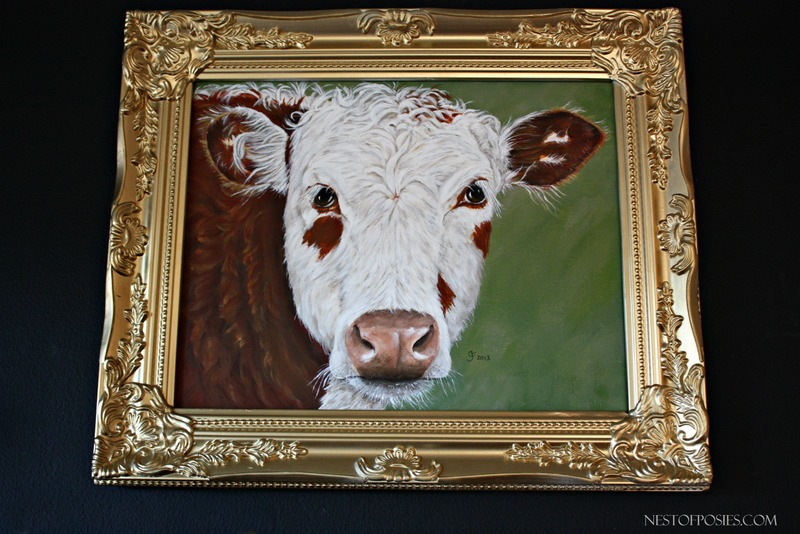 Cow Painting, design & painted by Colleen Jorgensen