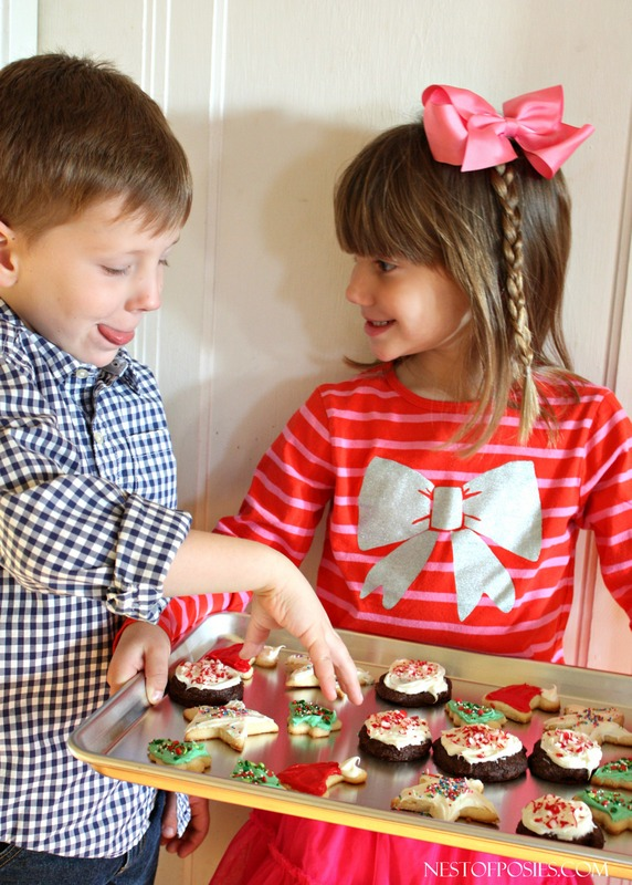 Kids Decorating For Christmas christmas cookies with kids