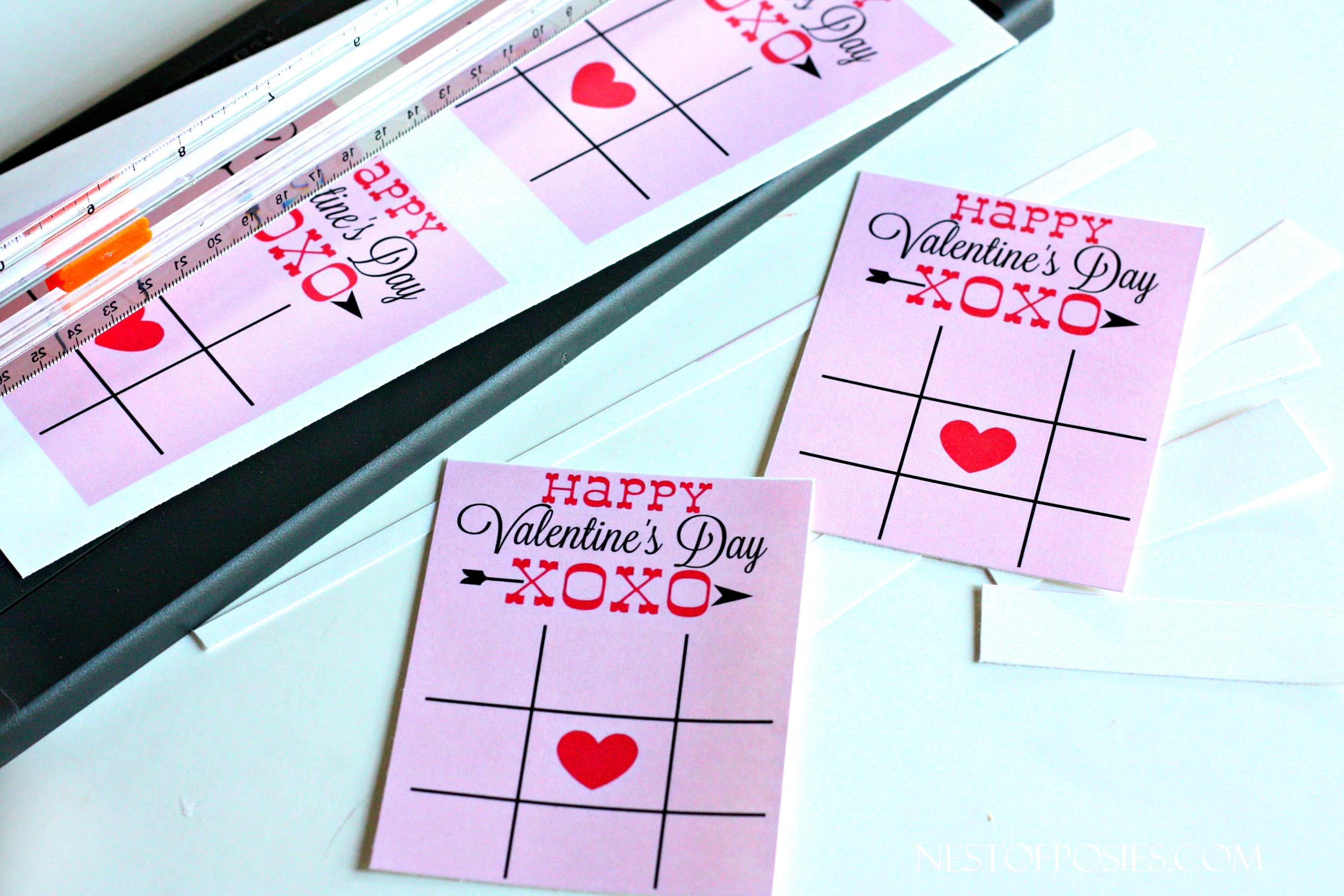 XOXO Classroom Valentine Printables