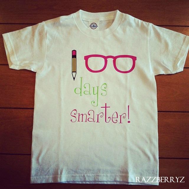 100 days of school shirt