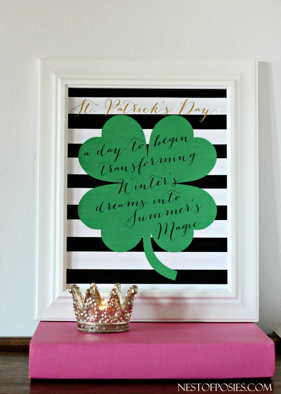 St. Patrick's Printable Quote