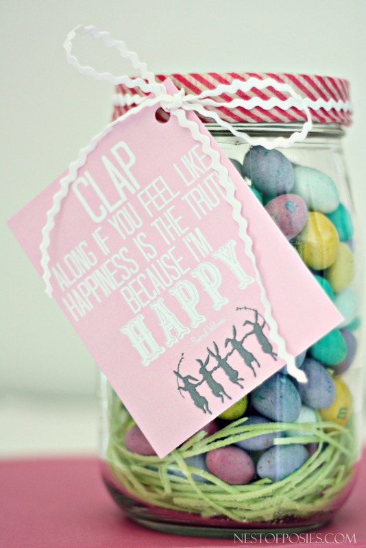 Because I'm Happy Free Easter Printable