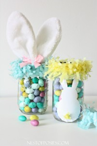 Mason Jar Easter Basket