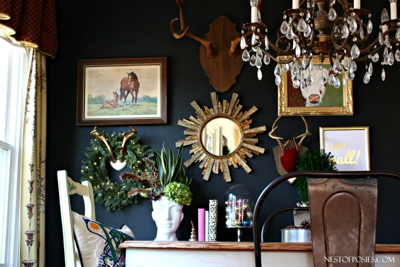 Dining-Room-Black-Gallery-Wall