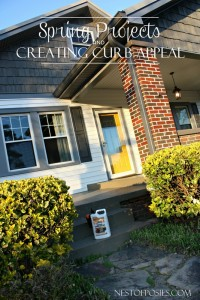 Spring Projects and Creating Curb Appeal