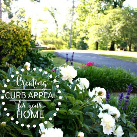 Creating curb appeal for your home or for resale