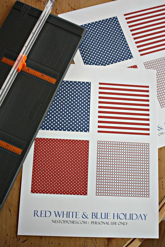 Printable Pinwheels