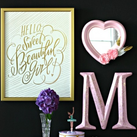 DIY Girl's Room Decor