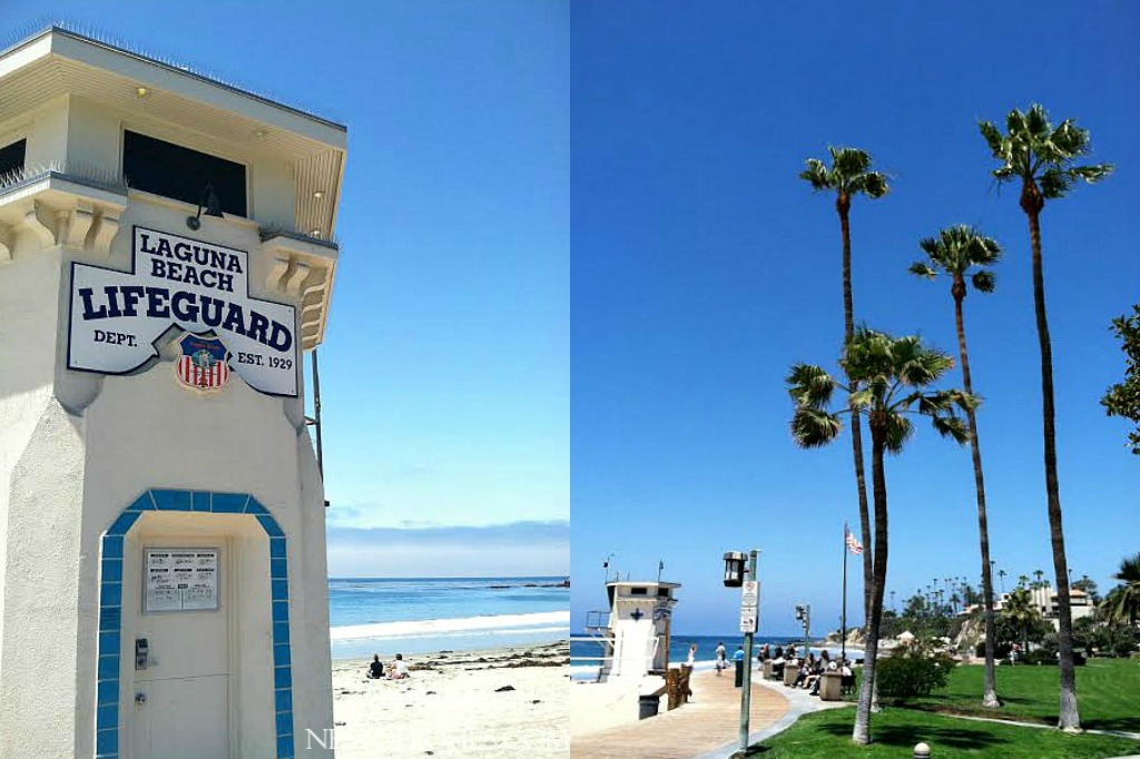 Lifeguard Tower on the Main Beach Laguna Beach