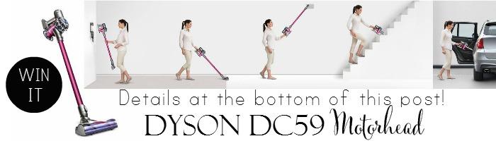Win it!  Dyson DC59 Motorhead