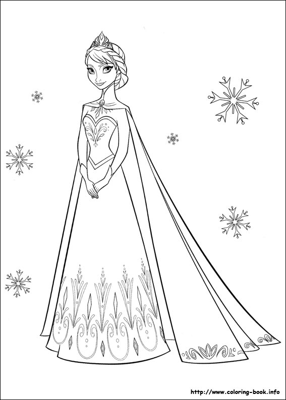 Frozen Elsa Face Coloring Pages Frozen Elsa Coloring Pages