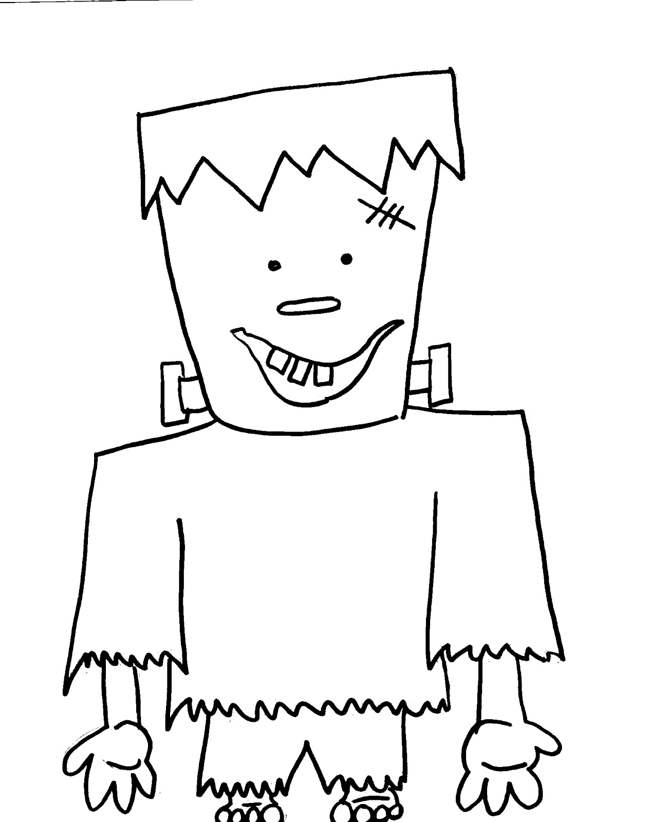 Halloween coloring pages for Haloween coloring pages