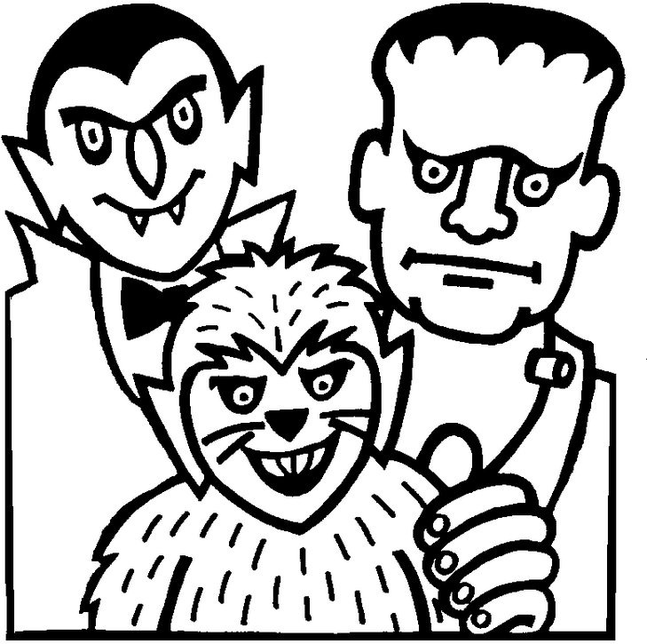 Halloween coloring pages for Halloween vampire coloring pages
