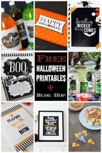Halloween Printable Blog Hop