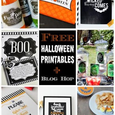 Halloween Printable Blog Hop