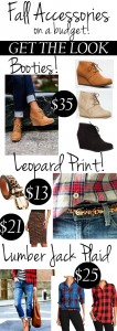 Fall Accessories on a budget