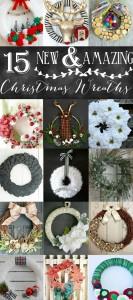Lumber Jack Antler Wreath + a wreath blog hop!