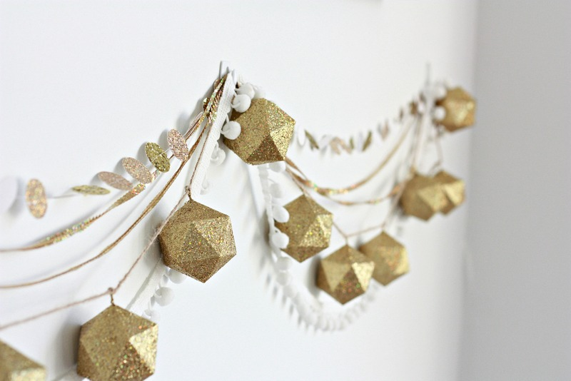 Sequins and Hexagon Garland