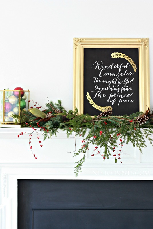 The names of Jesus Isaiah 9-6 FREE Printable for your home