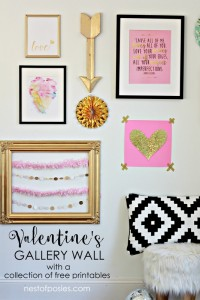 Valentines Gallery Wall