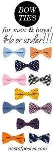 Bow Ties for Boys or Men