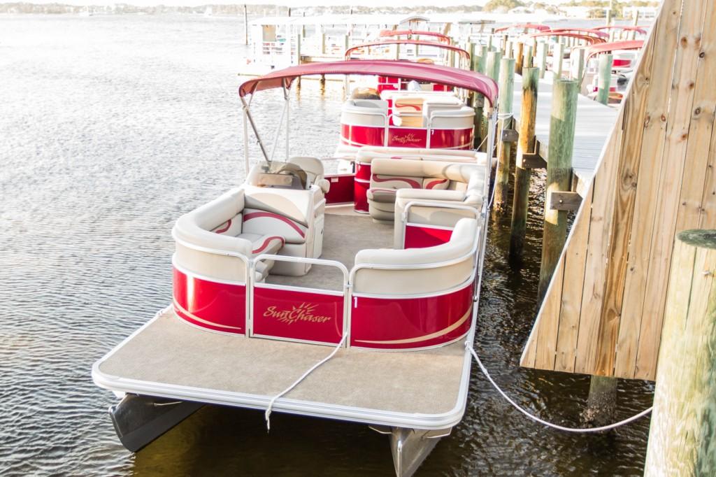 Rent a Pontoon Boat to Shell Island