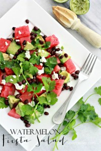 Watermelon Fiesta Salad