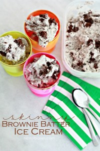 Brownie Batter No Churn Ice Cream